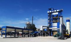 The ABZ S120 asphalt concrete plant is stationary