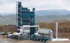 The ABZ S160 asphalt concrete plant is stationary