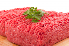Forcemeat from mutton, beef and horse-flesh