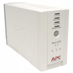Block of uninterrupted power APC BK650EI