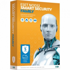 Antivirus of Eset NOD32 Smart Security Family