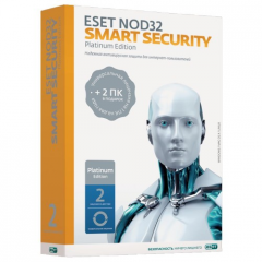 Antivirus of Eset NOD32 Smart Security, Platinum