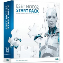 Antivirus of Eset NOD32 Start Pack,