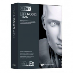 Antivirus of Eset NOD32 Titan,