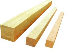 Wood, edged board, not cut, bar