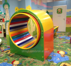Attraction for nurseries a soft wheel