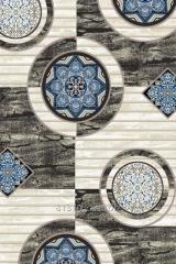 Carpet (floor wool) Viziyon, art. 3725B S.BROWN