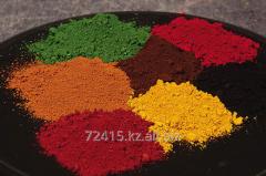 Pigment Zhelezooksidny Mixing