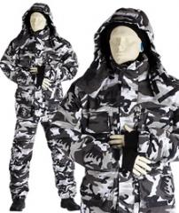 "Suit camouflage winter ""Urban"""