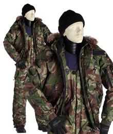 "Suit camouflage winter ""DPM"