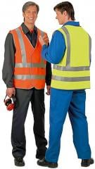 Vest alarm the increased visibility (fluorescent