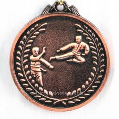 Karate medal - bronze