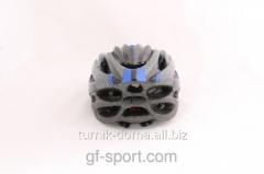 Helmet is protective blue