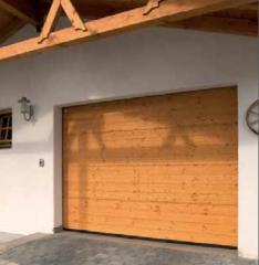 Gate from wood, Vorotny systems, Section gate