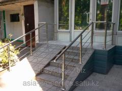 Перила из нержавеющей стали в Алматы