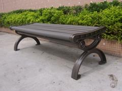 Benches from composite material