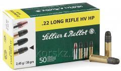 Boss of Sellier & Bellot caliber 22LR HV