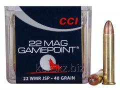 Boss CCI caliber of 22 Win.Mag GAMEPOINT JSP 40grs