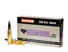 Boss NORMA caliber of 308 Win Match 150 gr FJPBT
