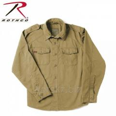 Rothco NEW KHAKI shirt (2556, XS, Khaki)