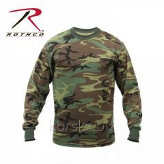 T-shirt camouflage Rothco with a long sleeve