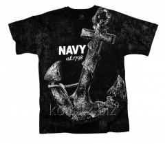 T-shirt with Rothco EST1798 anchor (66320, XL,