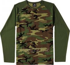 Rothco t-shirt with a long sleeve 2-TONE RAGLAN