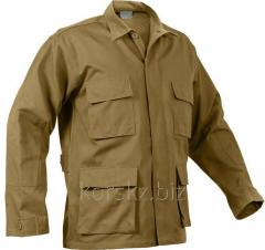 Rothco BDU shirt (50142, XL, Black)