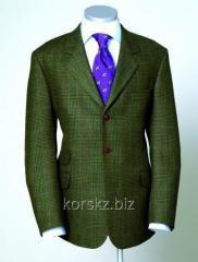 Jacket tweed Laksen BRUAR (3151, L, Olive)