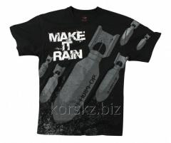 T-shirt with Rothco bombs big (66381, XXL, Black)