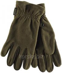 Gloves fleece Seeland (19010306404, M, Green)