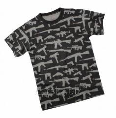 Rothco GUNS t-shirt (66350, S, Black)