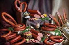 Half-smoked sausage goods