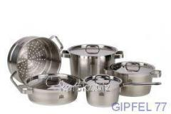 Ware set: 3 pans, 1 ladle, 1 insert for