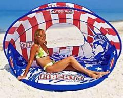 Inflatable chaise lounge of Liberty Cabana