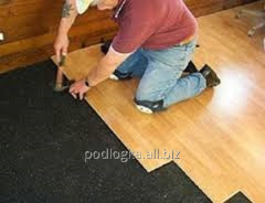 Sound insulation of floors