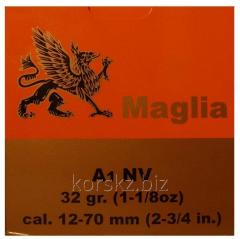 The boss of MAGLIA caliber of 12/70 32 g with the