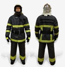 Fighting clothes of the fireman, Clothes of the