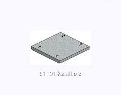 Плита, крышка кабельного канала, марка П12д-15