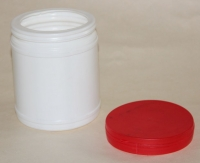 Bank for PVA glue complete with a cover, Tara for