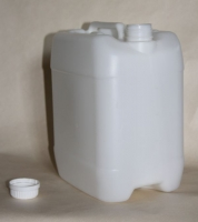 Blown plastic canisters, K-04 Canister,