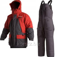 Fishermen suit gray/red ruble of L/52-54