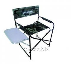 Aluminum folding-chair with a sliding table-top a