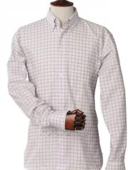 Laksen Mark oxford che shirt (7673, XXXL, Violet