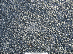Crushed stone the 0-5th, 5-20th, 20-40th, 40-70th