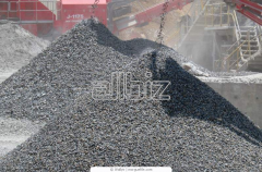 Crushed stone of fractions 0-5, 5-20, 20-40, 40-70