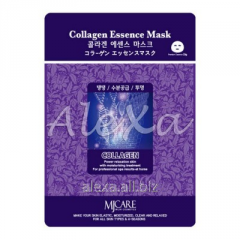 Anti-aging face pack with Mijin Collagen ESSENCE