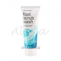 Srub for legs of SHINY FOOT SCRUB WASH