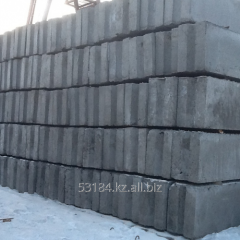 Block of wall ShBS 24-5-6, 2380kh500kh580mm