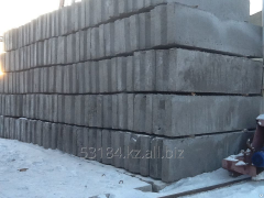 Block of wall ShBS 12-6-6, 1180kh600kh580mm